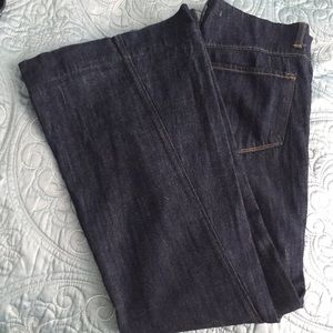 J Brand Wide Bell Bottom Jeans Size 27 Exc. Con.